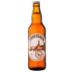 """""""Senojo VIlniaus"""" Unfiltered Light Beer 500ml 5% alc."""