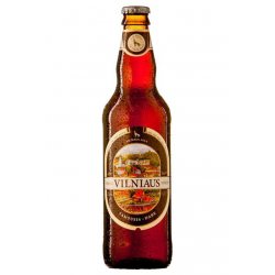 """Vilniaus"" Dark Beer 500ml 5.6% alc."