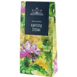 Žalia arbata su Kaktuso žiedais 80g (Green tea with cactus flowers)