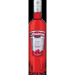 """Lithuanian"" Spanguolių skonio degtinė 0.5L ALC 40% (Cranberry flavored vodka)"