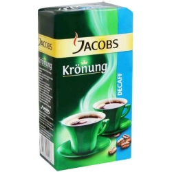"""Jacobs"" Skrudinta malta kava be kofeino 250g (Roasted coffee without caffeine)"