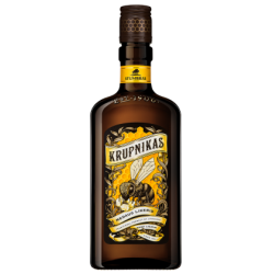 """Stumbras"" Medaus likeris 0,5l 40% Vol. (Honey liqueur)"