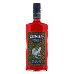 """""""Čepkelių"""" Cranberry Bitter 0.5l 36% alc.  (Spanguolių trauktinė)"""
