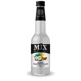 """MIX"" Ananasų ir kokosų skonio kokteilis 4% 0.33L (Carbonated cocktail vodka pinapple and cocunut taste)"