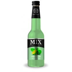 """MIX"" Laimo skonio kokteilis 4% 0.33L (Carbonated cocktail vodka and lime taste)"