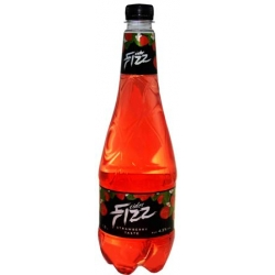 """FIZZ"" Gazuotas braškių skonio sidras 1.0L 4,5% (Strawberry flavoured cider)"