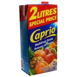 """""""Caprio"""" Įvairių vaisių gėrimas 2L (Multifruit drink)"""