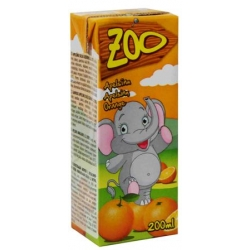 """Zoo"" Apelsinų sultys 200ml (Orange juice drink)"