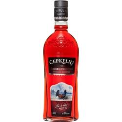 """""""Čepkelių Bruknių trauktinė 0,5L ALC 36% Tūrio (Spirit drink lingonberry taste)"""