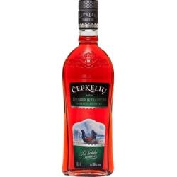 """""""Čepkelių spanguolių trauktinė 0,5L ALC 36% Tūrio (Spirit drink cranberries taste)"""