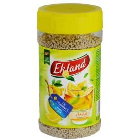 """""""Ekland"""" Tirpus citrinų skonio arbatos gėrimas 350g (Granulated tea drink with lemon flavour)"""