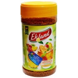 """""""Ekland"""" Tirpus įvairių vaisių skonio arbatos gėrimas 350g (Granulated tea drink with multifruit flavour)"""
