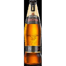 "Švyturys  ''Extra Premium"" Lager Beer 500ml 5.2% alc."