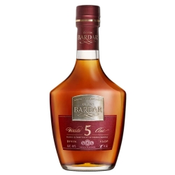 "Moldavian Brandy ""Divin Bardar Silver Collection"" VSOP 5 Years Old Cognac 0.5l 40% alc."