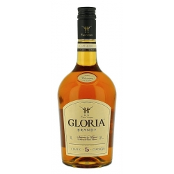 """Gloria"" Brendis Cl 70 Alk 38% (Brandy, Matured in oak casks)"