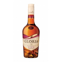 """Gloria Fusion"" Brendis slyvų skonio 0,5L 36% (Brandy with plums)"