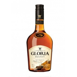 """Gloria"" Brendis Cl 50 Alk 36% (Exclusive rich, smooth and fruity taste Blend of French Brandy with natural orange and chocolate flavors"