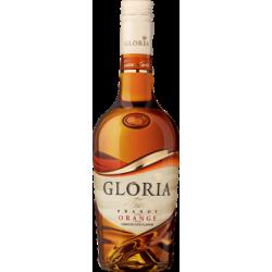 "Brandy ""Gloria Orange Fusion"" 36% alc. 0.5l. with natural orange and dark chocolate flavours."