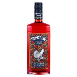 """""""Čepkelių"""" Lingonberry Bitter 0.5l 36% alc. (Bruknių trauktinė)"""