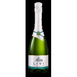 """""""Alita"""" LIVI Putojantis vynas pusiau sausas be alkoholio0,75L (Sparkling wine medium dry alcohol free)"""