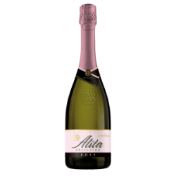 """""""Alita""""Putojantis vynas pusiau sausas""""Rose""""11% 0.75L(Sparkling wine semi dry)"""
