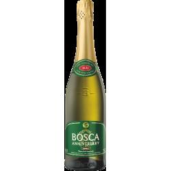 """""""Bosca""""Puikus pusiau saldus baltas 0,75l alk7,5% (Half sweet fine white)"""