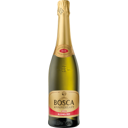 """Bosca""Baltas pusiau saldus ne alkoholinis 0,75l (Half sweet alcohol free)"