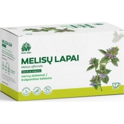 """""""ŠVF"""" Melisų lapai 24pak. (Melissa leaves)"""