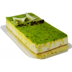 """Amebr Bakery"" Varškės plokštainis ""Kiwi"" 770g~ (Kiwi cheese cake )"