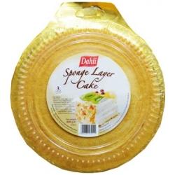 """""""Dahli"""" Kempinė sluoksniu pyragas 400g (Sponge layer cake)"""
