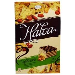 """""""Laima"""" Chalvos skonio vaflinis tortas 300g (Wafer cake with halva taste)"""