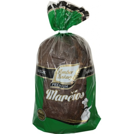"""AB""Juoda plikyta duona su kmynais 800g ""Marčios""(Dark Rye Bread with Caraway Seeds)"