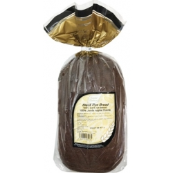 """AB""100% Juoda Ruginė Duona 800g (Black Rye Bread)"