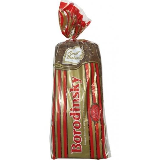 """""""AB""""Juoda duona su kalendro sėklomis 800g """"Borodinsky"""" (Bread with coriander seeds)"""