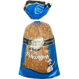 """""""AB""""Balta plikyta duona su kmynais """"Palangos""""800g (Light Rye Bread with Caraway Seeds)"""