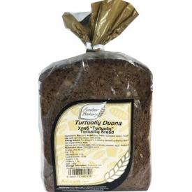 """AB """"Turtuolių"""" duona 600g (Dark bread)"""