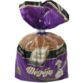 """AB""Balta plikyta duona su kmynais ""Megėjų""400g (Light Rye Bread with Caraway Seeds)"