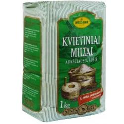 """""""Malsena"""" Kvietiniai miltai 1kg (Wheat flour)"""