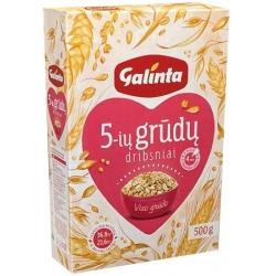 """""""Galinta"""" Penkių grūdų dribsniai (5 grain flakes)"""