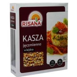 """Risana"" Miežių kruopos 400g (Country style barley groats)"
