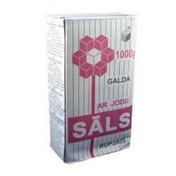 Joduota akmens druska 1000g (Read stone salt) r