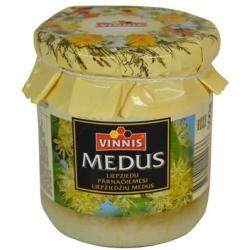 """Vinnis"" Liepžiedžių medus 500g (Linden honey)"