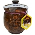 Lietuviškas bičių medus 600g (Natural bee honey of meadows and forests)