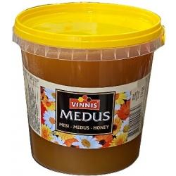 """""""Vinnis"""" Medus kibirėlyje 1kg (Honey in backed)"""