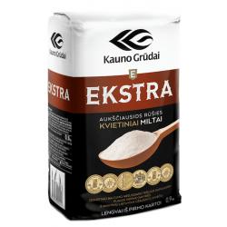 """""""Kauno grūdai"""" Miltai 0,9kg (Extra flour)"""