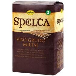 """""""Malsena"""" Viso grūdo dalių speltų kvietiniai miltai 1kg (flour)"""