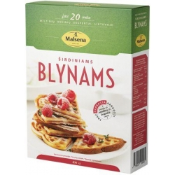 """Malsena"" Širdiniams blynams 400g (Flour mix for heart pancakes)"