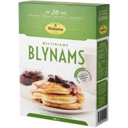 """Malsena"" Miltiniams blynams 400g (Flour mix for pancakes)"