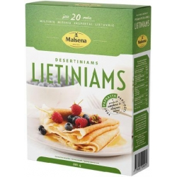 """Malsena"" Lietiniams desertiniams  400g (Flour mix for dessert crepes)"