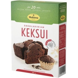 """Malsena"" Šokoloadiniam keksui 400g (Flour mix for chocolate cake)"